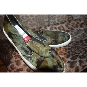 Kenneth Cole Reaction camo sneakers